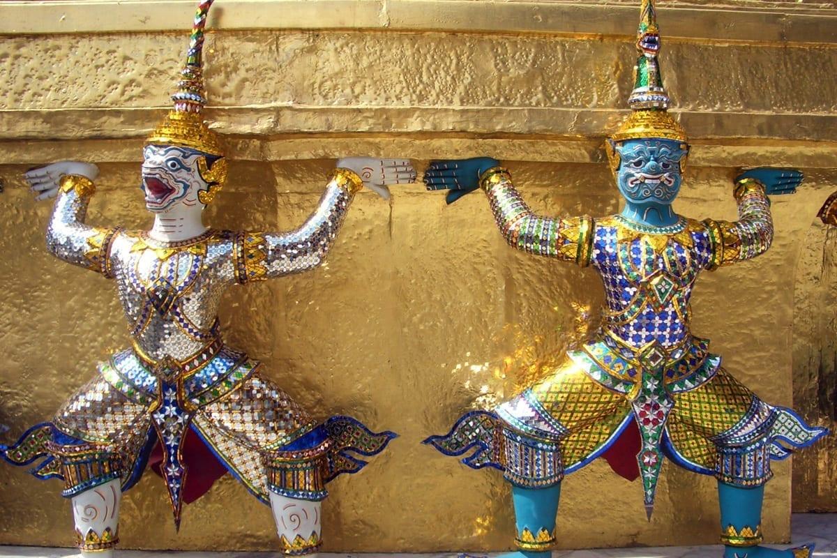 Thailand Bangkok Königspalast