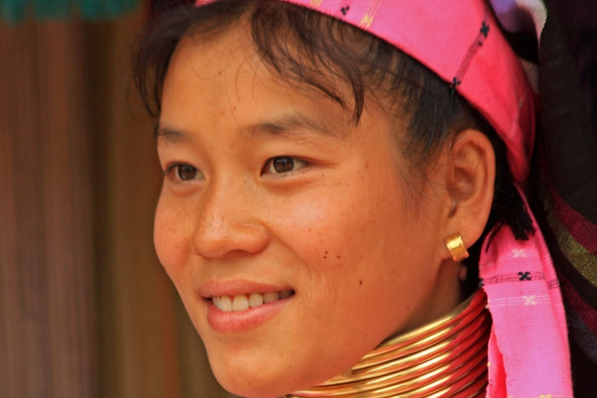 Thailand Chiang Mai Padaung Langhalsfrauen
