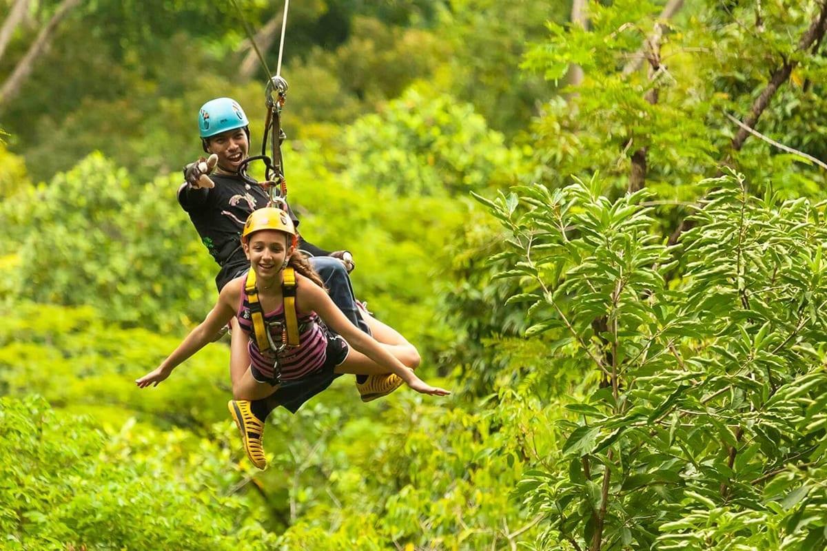 Zip Line Eco Abenteuer – Flying Hanuman